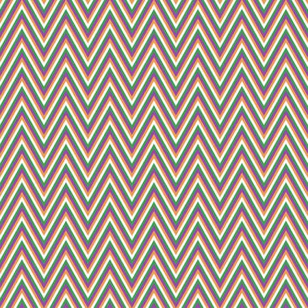chevron pattern: Colored retro chevron pattern vector background design