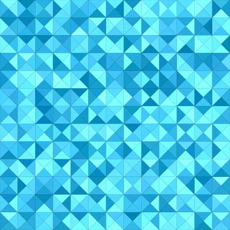 light backround: Light blue triangle mosaic vector background design