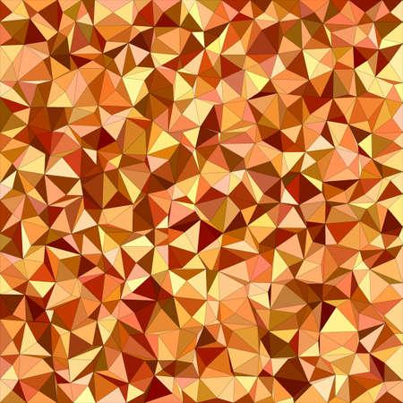 irregular: Orange irregular triangle mosaic vector background design Illustration