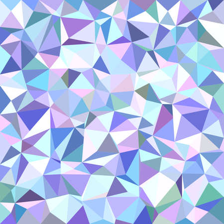 wall decor: Light irregular triangle mosaic vector background design Illustration