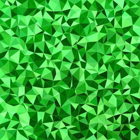 tone: Green irregular triangle mosaic vector background design Illustration