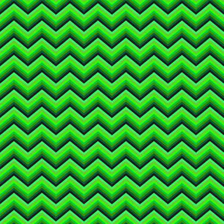 chevron pattern: Green horizontal chevron pattern vector background design Illustration