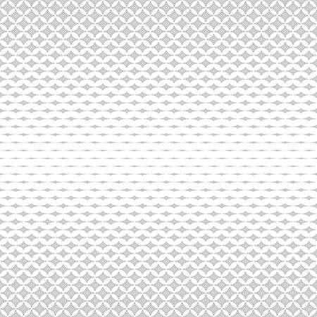 monochromatic: Repeating monochromatic horizontal vector star pattern design Illustration