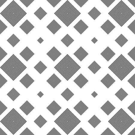 repeating: Repeating black and white square pattern background