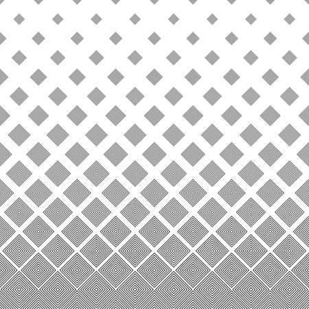 Seamless black and white abstract square pattern design