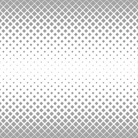 Abstracto sin fisuras en blanco y negro patrón cuadrado de fondo de diseño Ilustración de vector
