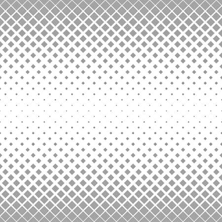 black: Seamless monochrome abstract square pattern design background