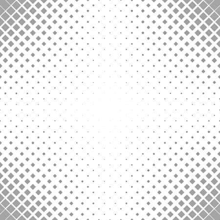 黒白いベクトル正方形のパターンのデザイン背景を繰り返します