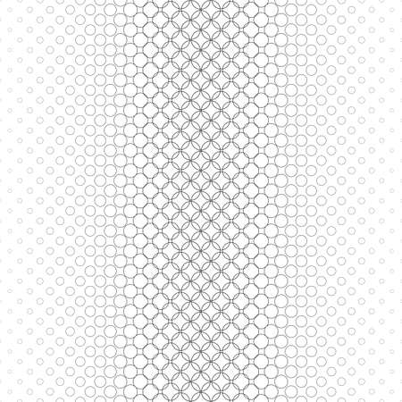 bleb: Repeating monochrome vector circle pattern design background