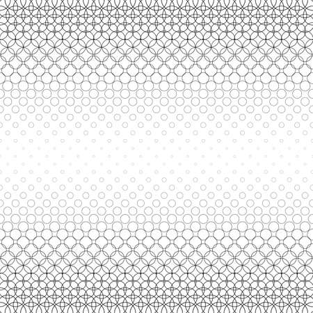 bleb: Seamless black and white abstract circle pattern design Illustration