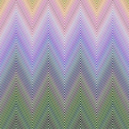 chevron pattern: Colored horizontal chevron pattern vector background design Illustration