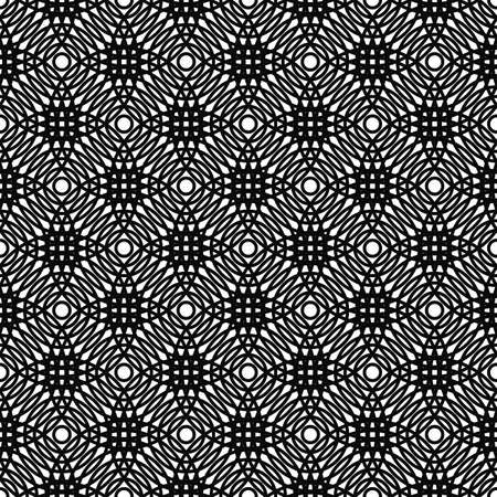 grid pattern: Repeat black and white circle grid pattern design