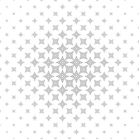 star pattern: Black and white vector star pattern design