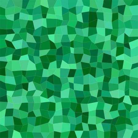 irregular: Green color irregular rectangle mosaic vector background