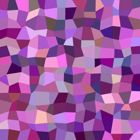 irregular: Purple colorful irregular rectangle mosaic vector background