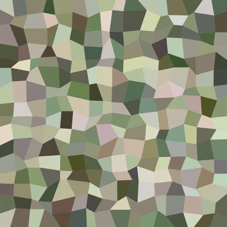 irregular: Military color irregular rectangle mosaic vector background Illustration