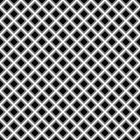 black borders: Repeating black white vector square pattern design background