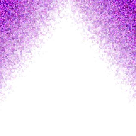 diffused: Purple irregular triangle mosaic vector background design Stock Photo