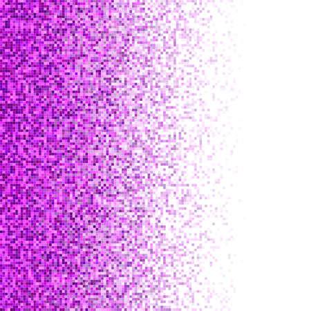 Magenta color square mosaic vector background design