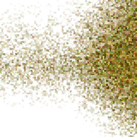 polyhedron: Color diffuse irregular rectangle mosaic vector background Illustration