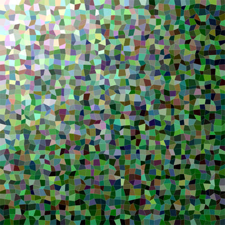 rectangle: Abstract colorful irregular rectangle mosaic vector background