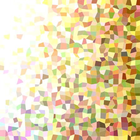 irregular: Colorful abstract irregular rectangle mosaic vector background