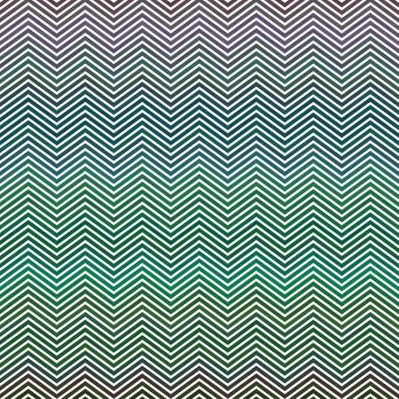 herringbone background: Green horizontal chevron pattern vector background design Illustration