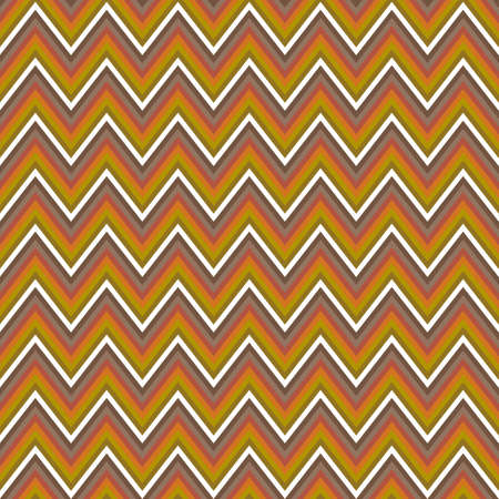 chevron pattern: Colored horizontal chevron pattern vector background design Illustration