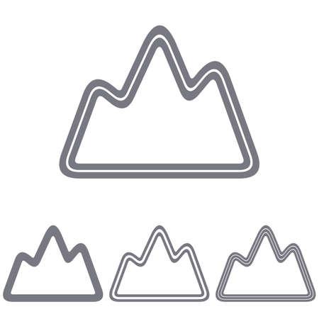 grey line: Grey line exploration icon