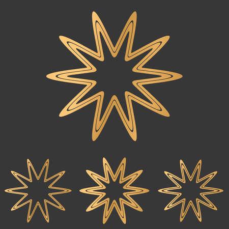bronze: Bronze line star