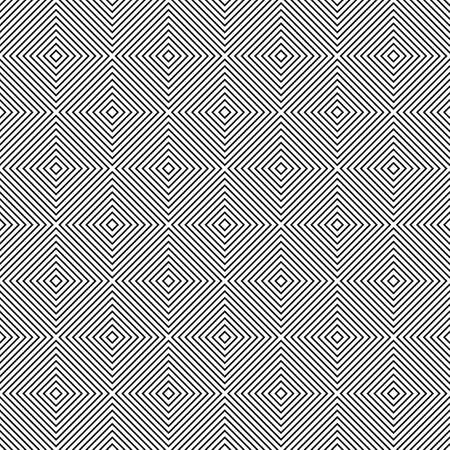 monochromatic: Repeat monochromatic vector square pattern design background Illustration