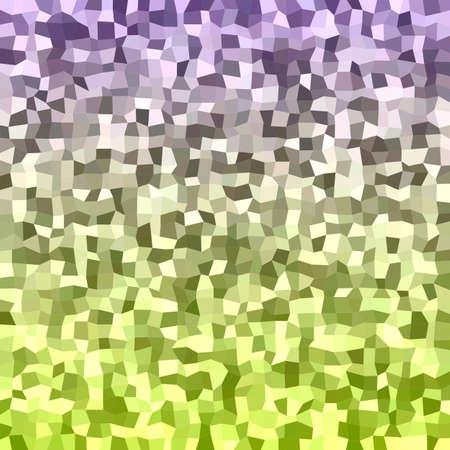 irregular: Abstract color irregular rectangle mosaic vector background
