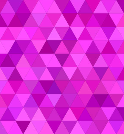 triangle shaped: Pink regular triangle mosaic vector background design