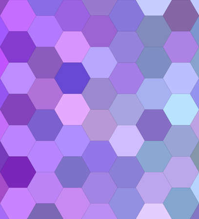Light purple hexagon mosaic vector background design