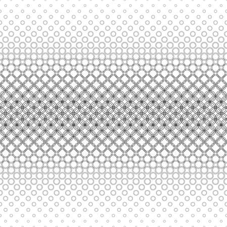 bleb: Repeating black and white abstract circle pattern background
