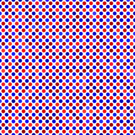 dot pattern: Red blue abstract dot pattern background design