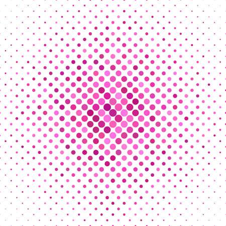 Pink color dot pattern background - vector illustration