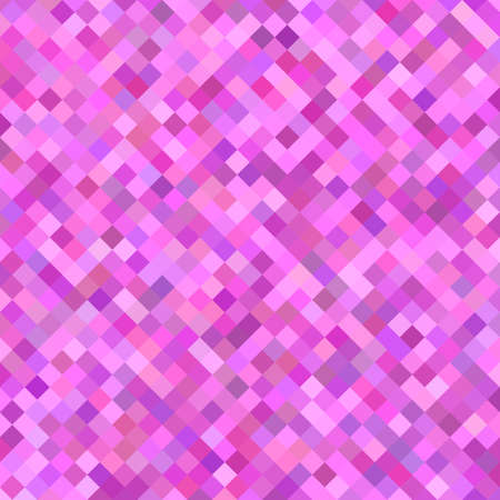square abstract: Pink color abstract square pattern background design