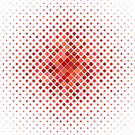 red square: Red square pattern background design - vector illustration