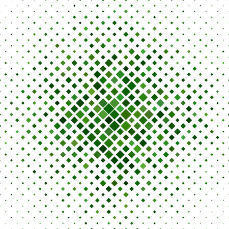 varying: Green abstract square pattern background design - vector illustration Illustration