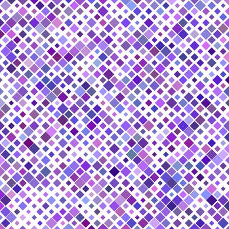 Purple square pattern background design - vector illustration