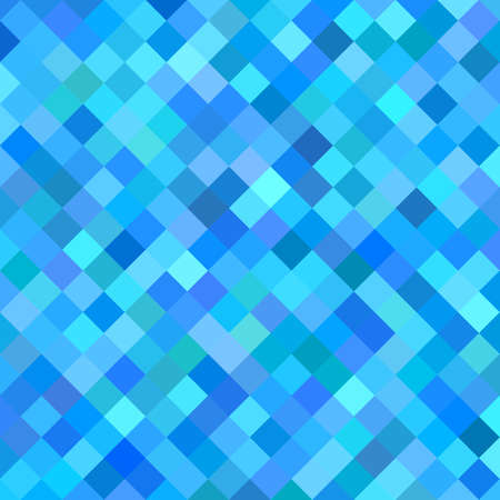 diagonal  square: Blue abstract diagonal square pattern background design