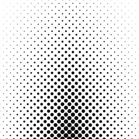 varying: Abstract monochrome circle pattern background design - vector illustration