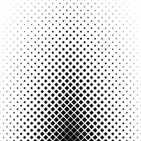 Abstract monochrome square pattern background design - vector illustration Illustration