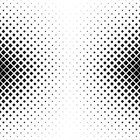 varying: Abstract monochrome square pattern background design - vector illustration Illustration