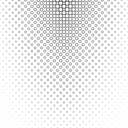 bleb: Abstract monochrome circle pattern background design - vector illustration