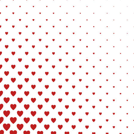 heart pattern: Red and white heart pattern background design