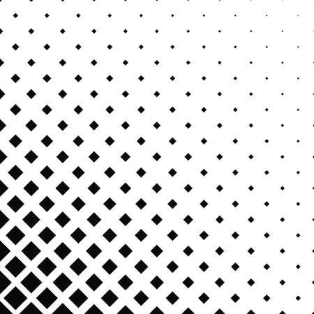 tileable: Monochrome square pattern background design - vector illustration