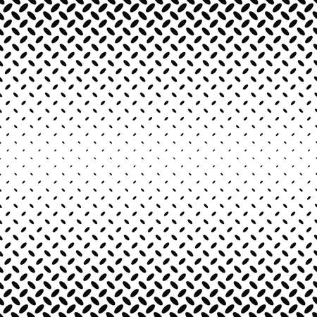 ellipse: Abstract monochrome diagonal ellipse pattern background - vector illustration