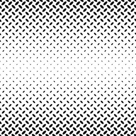 elipse: Resumen modelo monocromático elipse diagonal fondo - ilustración vectorial